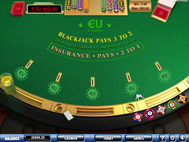 EUcasino screenshot 4
