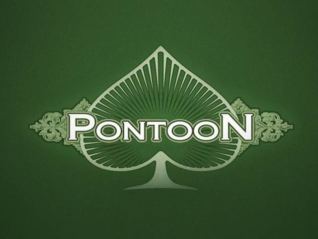 Card game Pontoon Blackjack
