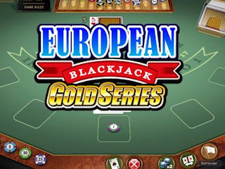 Card game Evropean blackjack GOLD