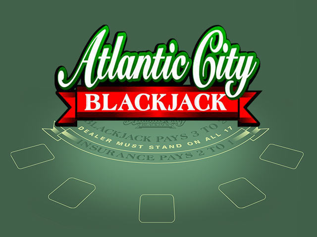 Card game Atlantic City Blackjack